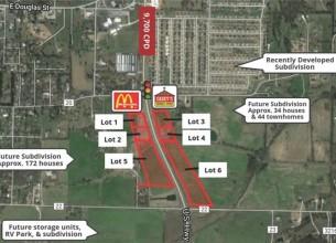 Lot 4 (2.2 Acres)  Hwy 62, Prairie Grove AR
